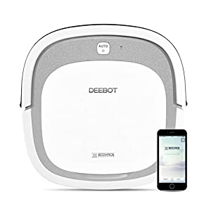 ECOVACS-DEEBOT-Slim2-Robotic-Vacuum-Cleaner-for-Bare-Floors-Only-with-Dry-Mopping-Feature