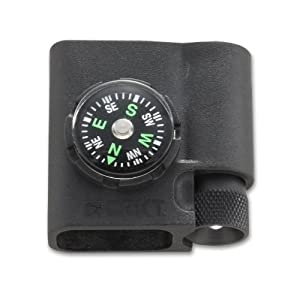 CRKT Survival Bracelet Accessory Compass and LED 9700 from Columbia River Knife & Tool