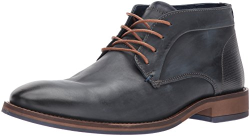 Madden Leather Lyle Steve Navy Chukka Men's Boot AqCdYwC