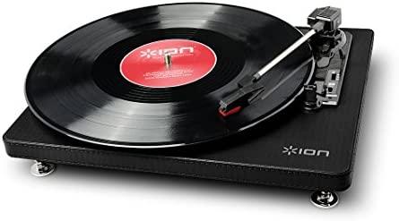 ION Audio Compact LP Black - Tocadiscos de 3 velocidades con conversión digital USB