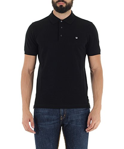 Fendi Men's Polo Bug (FY0707 1LW) - Black, Large (IT/FR : - Fendi Black