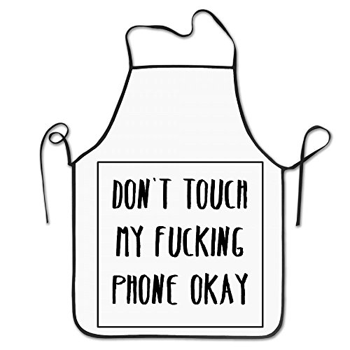 Don't Touch Mu Fucking Phone Okay Cooking Aprons Cute Cool Apron Aprons For Kids Art Aprons For Kids Bulk Painting Aprons For Kids Cooking Aprons For Kids Bulk Cooking