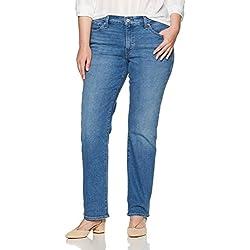 Levi's Women's 414 Plus-Size Classic Straight Jean's, Blue Mixtape, 40 (US 20) S