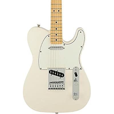 Fender Standard Telecaster Electric Guitar - Maple Fingerboard - Butterscotch Blonde from Fender Musical Instruments Corp.