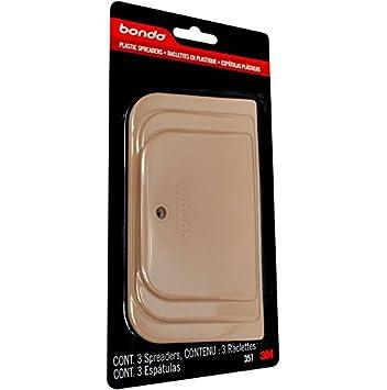 3M Bondo Kunstoffspachtel-Set 3-teilig beige 3 Stück 357 ...