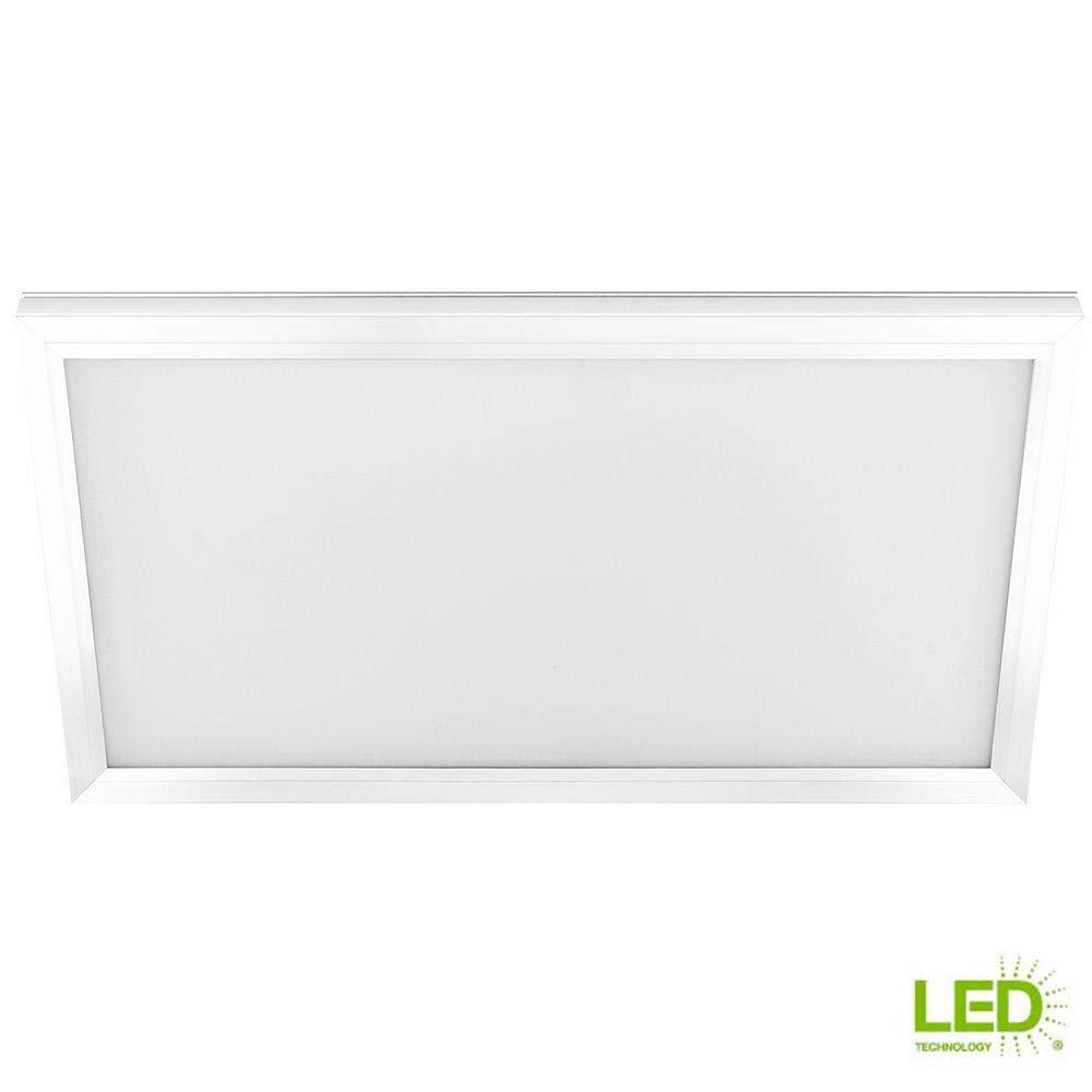 商用電気 1フィート x 2フィート 23ワット 調光機能付き ホワイト 統合 LED エッジライト フラットパネル 天井フラッシュマウント 色が変わるCCT   B07MKPLBPP