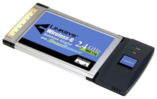 Cisco-Linksys WPC54GS Wireless-G Notebook Adapter with SpeedBooster by Linksys