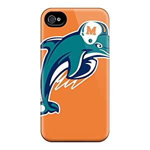 Iphone 6plus ItK6577JwBx Support Personal Customs Attractive Miami Dolphins Series Shock Absorption Hard Cell-phone Cases -SherriFakhry