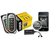 Viper 5204 Car Alarm Security with Remote Start VSM200 SmartStart 2 way Responder System