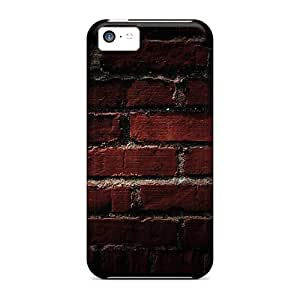 5c Scratch-proof Protection Case Cover For Iphone/ Hot Brick Wall Phone Case