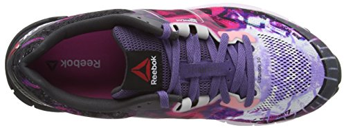 Reebok Lths One Cushion 3.0 Ag, Damen Laufschuhe Mehrfarbig (Lilac Ice/Purple Slate/Charged Pink/Garvel/Neon Cherry)