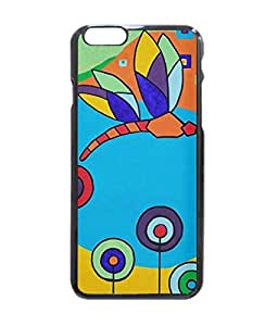 """Dragonfly Lolipop Colorful Painting Hard Customized Case Cover , Iphone 6 (4.7"""") Case Cover, Protection Quique Cover, Perfect Fit, Show Your Own Personalized Phone Case for Iphone 6 - 4.7 Inches"""