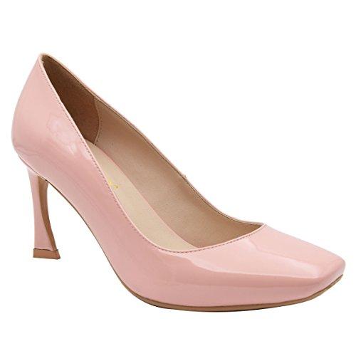 Verocara Pump6027, Bas femme B-Pink Patent