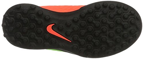 Nike Hypervenomx Phade 3 (V) Tf, Zapatillas de Fútbol Unisex Niños Verde (Elctrc Green/black-hyper Orange-volt)