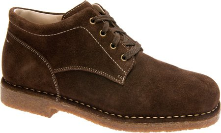 UPC 708109913336, Men's Comfortable Therapeutic Boot by Drew - Bryan - 12 - 6E - Chocolate Brown Suede