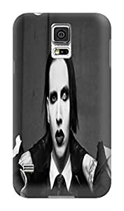 Charming design tpu phone case cover with lovely pattern for Samsung Galaxy s5 of Marilyn Manson in Fashion E-Mall Kimberly Kurzendoerfer