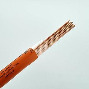 """Weldcote Metals ER70S-2 1/16"""" X 36"""" Tig Welding Rod 1 Lb. from Weldcote Metals"""