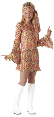 California Costumes disco dolly child costume Gold (Disco Costumes For Kids)
