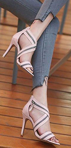 Fermeture Aisun Soir 10cm Eclair Femme Stiletto Zip Sexy ExFPqvx8