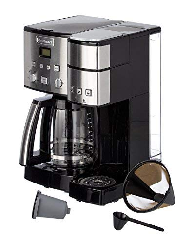 Cuisinart Ss 15 12 Cup Coffee Maker And Single Serve