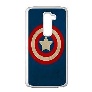 DIY Printed Captain America hard plastic case skin cover For LG G2 SN9V392124