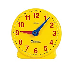 Amazon.com: Learning Resources Big Time Student Clock (12 HR ...