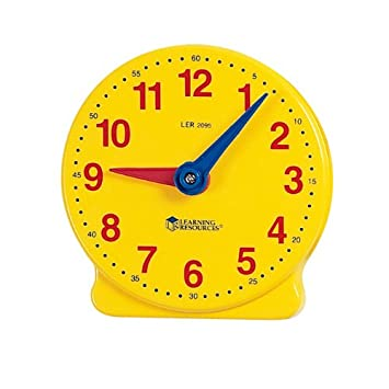 Learning Resources Big TimeTM Student Learning Clock®: Amazon.co ...