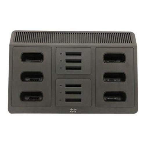 Cisco - CP-MCHGR-8821-BUN Multi-Charger - Phone charging stand/battery charger + power adapter - 12 output connectors (Renewed)