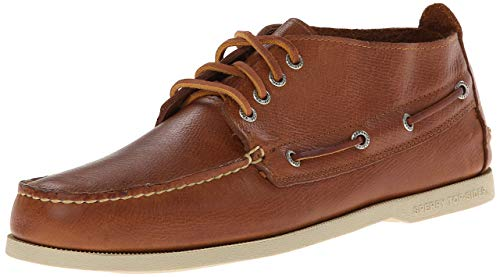 Sperry Authentic Original Boardwalk Chukka Men's Brown Boat Shoes - Chukka Original Authentic