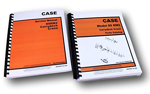 Case Drott 85Rm2 Carrydeck Crane Service And Parts Manuals Catalog Maintenance
