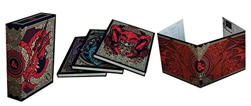 Covers 5 Closeout - Dungeons and Dragons RPG: Core Rulebook Gift Set Limited Alternate Covers