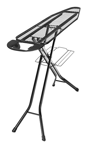 Whitmor Deluxe 4-Leg Ironing Board with Pad and Cover