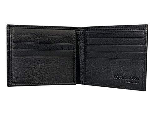 Amazon.com: Mens Premium Full Grain piel Trifold – Cartera ...