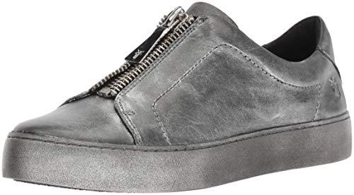 FRYE Women's Lena Zip Low Sneaker, Black/Multi,