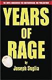 Years of Rage, Joseph Suglia, 1891855751