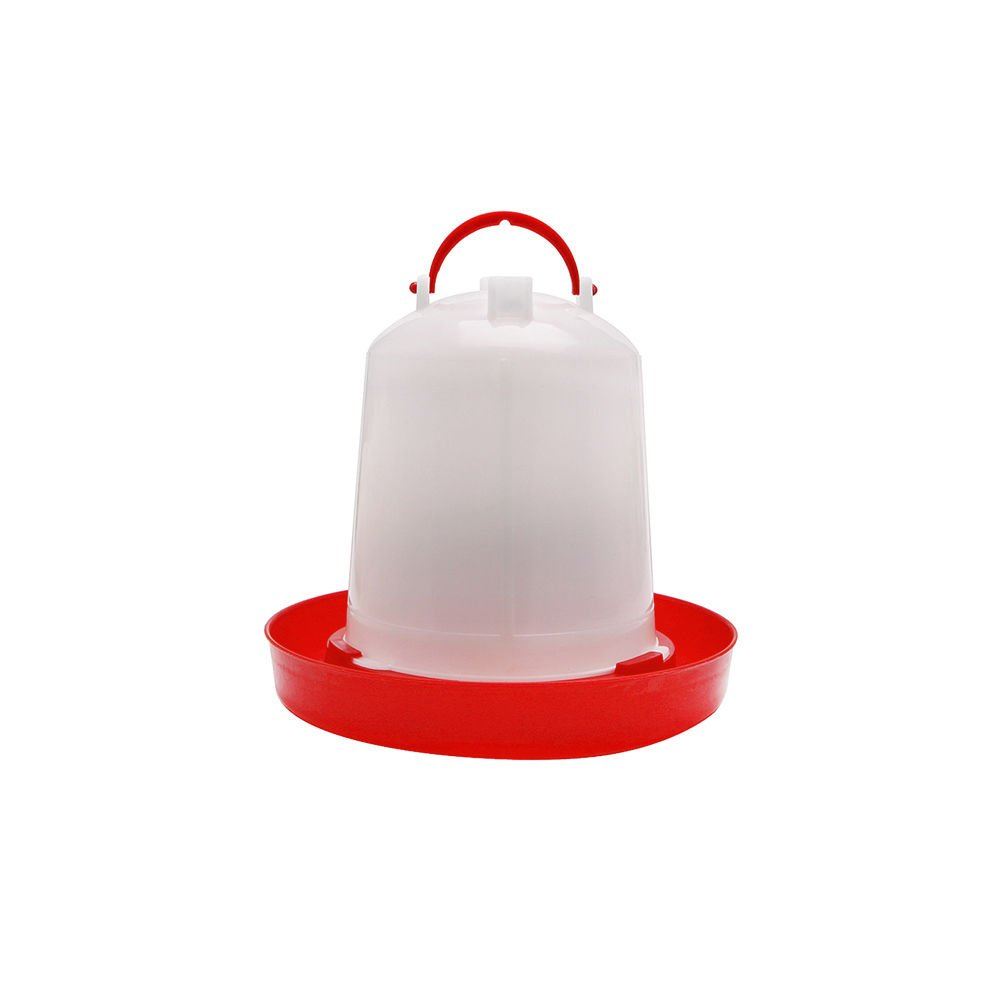 Dairyshop 1.5L /2.5L / 4L Chicken Feeder Drinker Chicken Poultry Chick Hen quail bantam Food Water (1.5L)