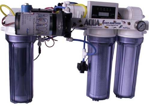 AquaFX Octopus 200 GPD RO/DI - Low Waste Water!