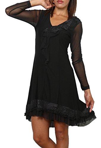 Para Vestido Negro Mujer Cicero Cicero Vestido Para Para Mujer Mujer Negro Negro Cicero Vestido pUBIqgIn