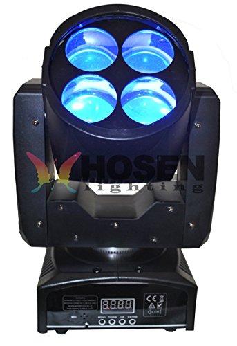 Hosenlighting 4*10W led SuperBeam moving headlight