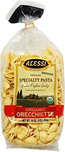 Alessi Italian Specialty Pasta, Organic Orecchiette, 16 Ounce