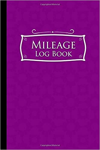 amazon com mileage log book mileage diary mileage monitor