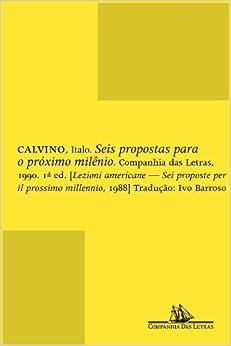 Book Seis Propostas Para O Proximo Milenio (Em Portugues do Brasil)