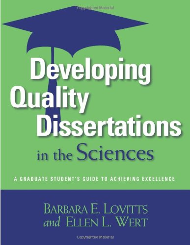 developing quality dissertations in the sciences Downloadfree educational center templatethis prepared own download developing quality dissertations in the sciences: a graduate engineering ultraviolet-hepa-carbon.