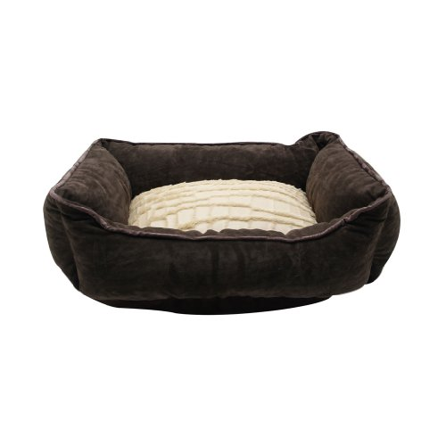 Catit Style Cuddle Bed, Savage, Brown/Beige, X-Small, My Pet Supplies