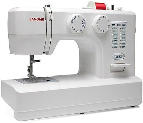 Janome 5812 Máquina de Coser: Amazon.es: Hogar