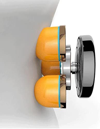 HINEW Cojín eléctrico de la silla del masaje con el calor (bola elástica del masaje del cuello 4, movimiento reverso concéntrico de la bola del masaje posterior con amasar): Amazon.es: Salud y