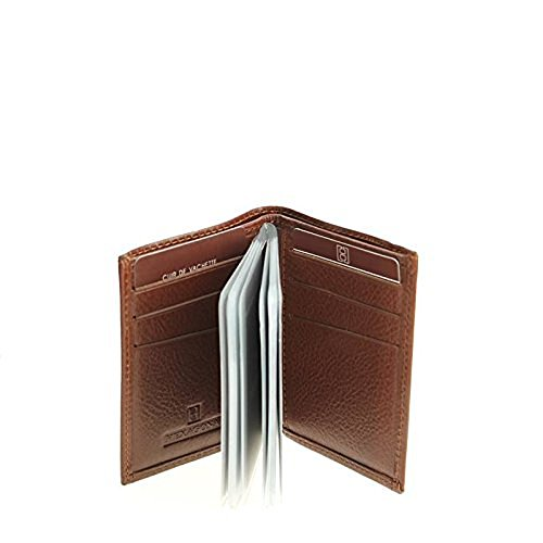 Hexagona, Borsa a mano donna marrone marrone 7L x 10H x 0.5E cm