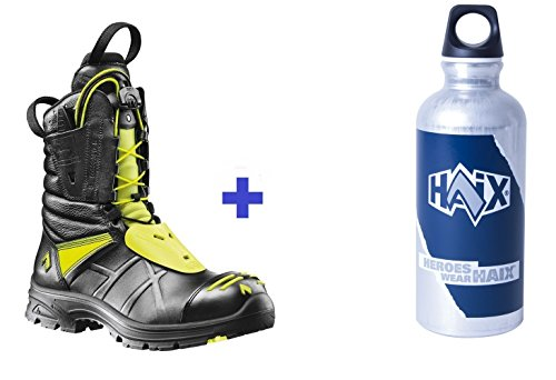HAIX Fire Eagle UK 9,5 - Sonderedition - Gratis Flasche