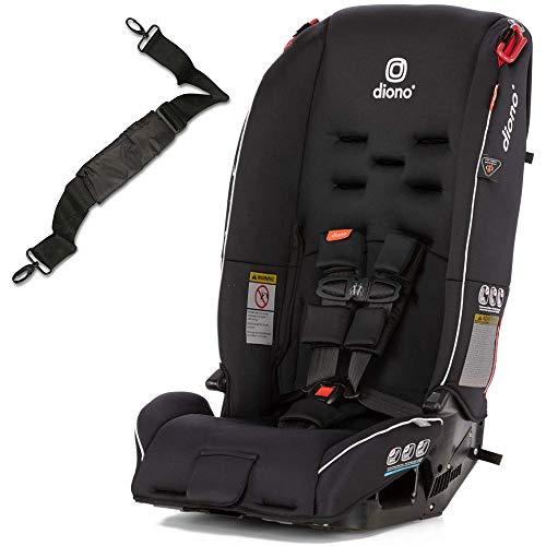 Diono Radian 3R All-in-One Convertible Car Seat with Carrying Strap – Black