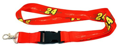 Jeff Gordon Lanyard - Jeff Gordon Lanyard with Clasp Clip